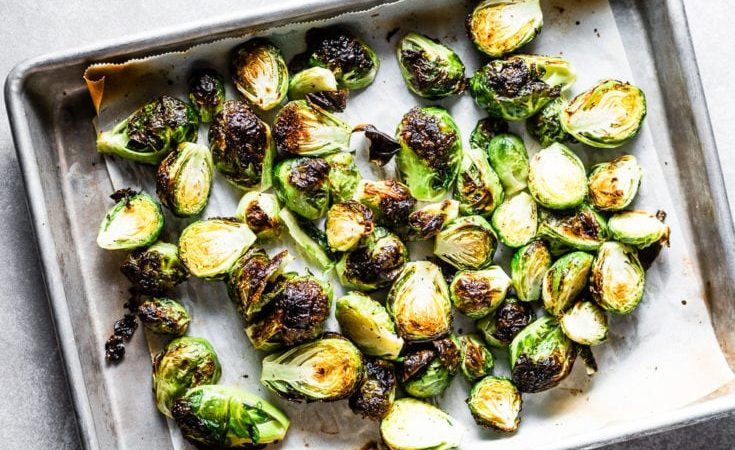 crispy-brussels-sprouts-on-sheet-pan-