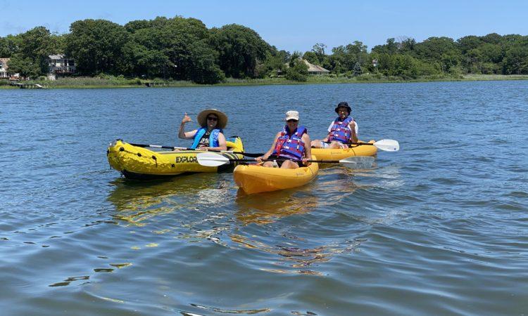 Kayak in Shar River