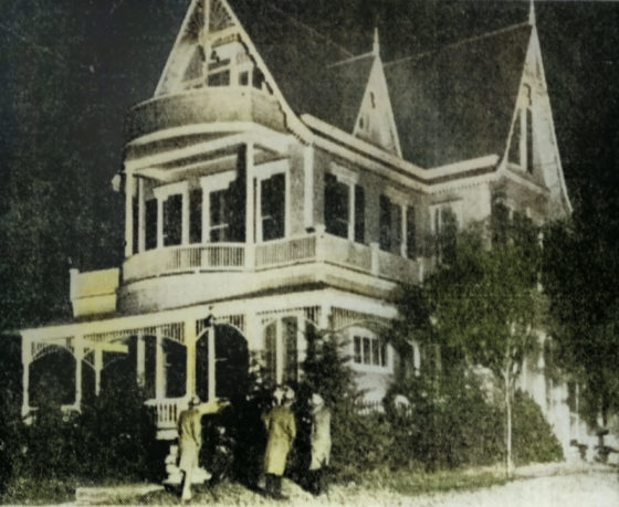 The Oscar Hammerstein Mansion on the day of Al Lilliens Murder