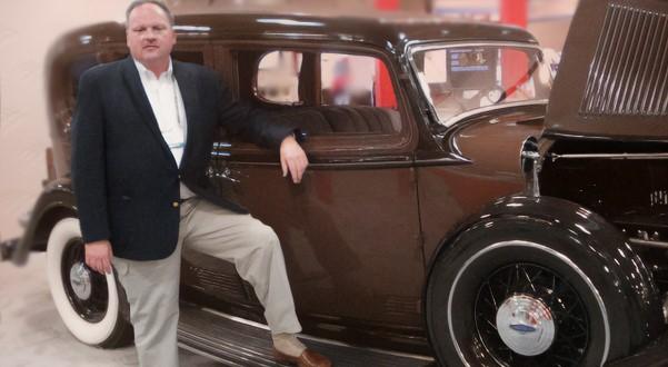 Jack Grodeska with Prohibition Era Auto 2