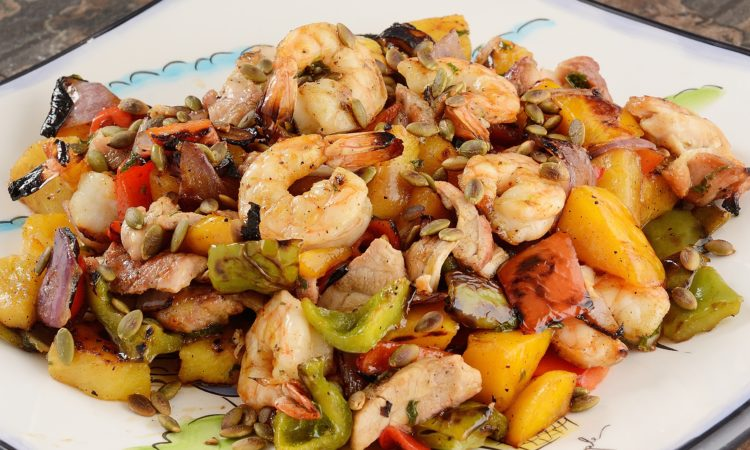 Grilled-Shrimp-and-Chicken-