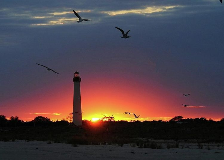 cape-may-lighthouse-at-sunset-